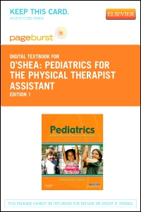 cover image - Pediatrics for the Physical Therapist Assistant - Elsevier eBook on VitalSource (Retail Access Card)