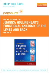 cover image - Hollinshead's Functional Anatomy of the Limbs and Back - Elsevier eBook on VitalSource (Retail Access Card),9th Edition