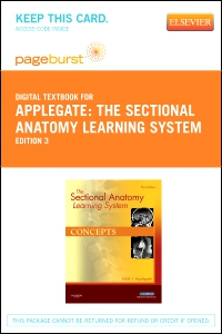 cover image - The Sectional Anatomy Learning System - Elsevier eBook on VitalSource (Retail Access Card),3rd Edition
