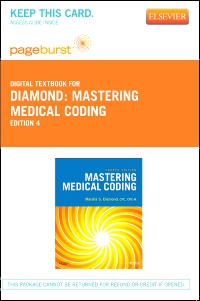 cover image - Mastering Medical Coding - Elsevier eBook on VitalSource (Retail Access Card),4th Edition