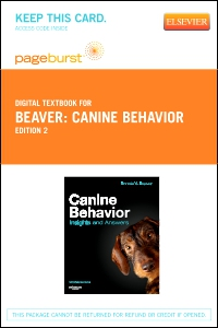 cover image - Canine Behavior - Elsevier eBook on VitalSource (Retail Access Card),2nd Edition
