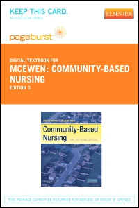 cover image - Community-Based Nursing - Elsevier eBook on VitalSource (Retail Access Card),3rd Edition