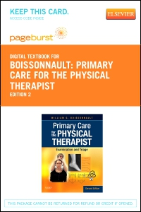 cover image - Primary Care for the Physical Therapist - Elsevier eBook on VitalSource (Retail Access Card),2nd Edition