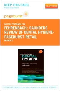 cover image - Saunders Review of Dental Hygiene - Elsevier eBook on VitalSource (Retail Access Card),2nd Edition