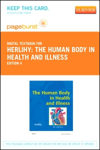 cover image - The Human Body in Health and Illness - Elsevier eBook on VitalSource (Retail Access Card),4th Edition