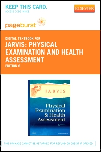 cover image - Physical Examination and Health Assessment - Elsevier eBook on VitalSource (Retail Access Card),6th Edition