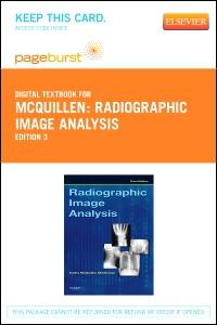 cover image - Radiographic Image Analysis - Elsevier eBook on VitalSource (Retail Access Card),3rd Edition