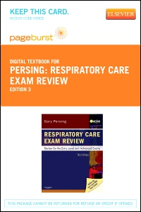cover image - Respiratory Care Exam Review - Elsevier eBook on VitalSource (Retail Access Card),3rd Edition