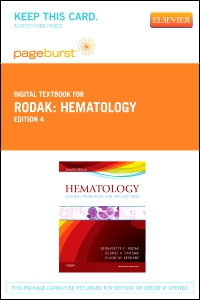 cover image - Hematology - Elsevier eBook on VitalSource (Retail Access Card),4th Edition