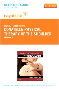 cover image - Physical Therapy of the Shoulder - Elsevier eBook on VitalSource (Retail Access Card),5th Edition