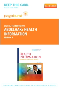cover image - Health Information - Elsevier eBook on VitalSource (Retail Access Card),4th Edition