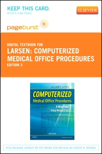 cover image - Computerized Medical Office Procedures - Elsevier eBook on VitalSource (Retail Access Card),3rd Edition