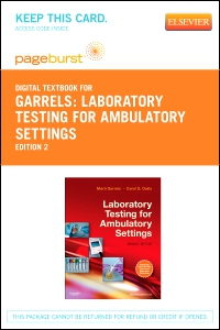 cover image - Laboratory Testing for Ambulatory Settings - Elsevier eBook on VitalSource (Retail Access Card),2nd Edition