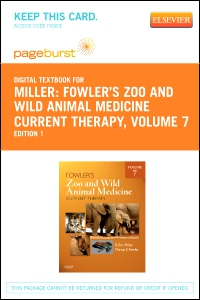 cover image - Fowler's Zoo and Wild Animal Medicine Current Therapy, Volume 7 - Elsevier eBook on VitalSource (Retail Access Card)