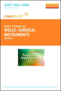 cover image - Surgical Instruments - Elsevier eBook on VitalSource (Retail Access Card),4th Edition