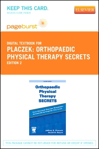 cover image - Orthopaedic Physical Therapy Secrets - Elsevier eBook on VitalSource (Retail Access Card),2nd Edition