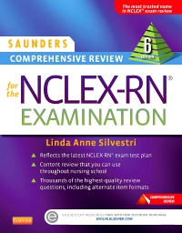 cover image - Evolve Resources for Saunders Comprehensive Review for the NCLEX-RN® Examination,6th Edition