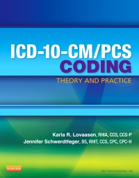 cover image - ICD-10-CM/PCS Coding: Theory and Practice - Elsevier eBook on VitalSource