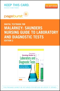 cover image - Saunders Nursing Guide to Laboratory and Diagnostic Tests - Elsevier eBook on VitalSource (Retail Access Card),2nd Edition