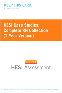 cover image - HESI Case Studies: Complete RN Collection (1 Year Version) - Next Generation Version