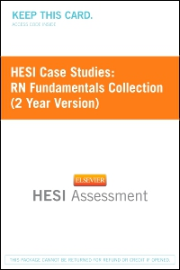 cover image - HESI Case Studies: RN Fundamentals Collection (2 Year Version) - Next Generation Version
