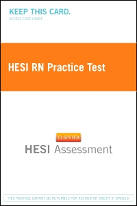 cover image - HESI RN Practice Test,2nd Edition