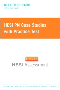 cover image - HESI PN Case Studies with Practice Test - Next Generation Version