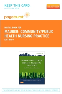 cover image - Community/Public Health Nursing Practice - Elsevier eBook on VitalSource (Retail Access Card),5th Edition