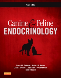 cover image - Canine and Feline Endocrinology,4th Edition