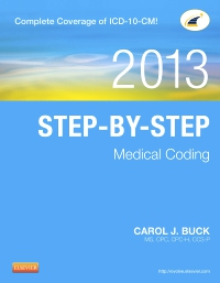 cover image - Step-by-Step Medical Coding, 2013 Edition - Elsevier eBook on VitalSource