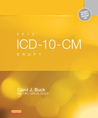 cover image - 2012 ICD-10-CM Draft Standard Edition - Elsevier eBook on VitalSource