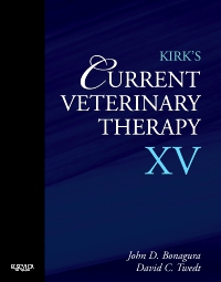 cover image - Kirk's Current Veterinary Therapy XV - Elsevier eBook on VitalSource