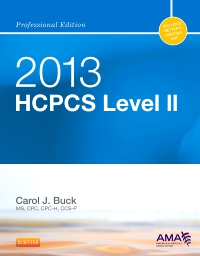 cover image - 2013 HCPCS Level II Professional Edition - Elsevier eBook on VitalSource