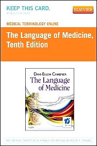 cover image - Medical Terminology Online for The Language of Medicine,10th Edition