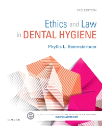 cover image - Ethics and Law in Dental Hygiene,3rd Edition