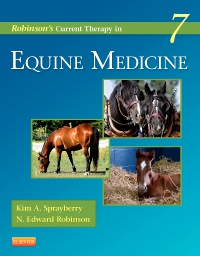 cover image - Robinson's Current Therapy in Equine Medicine,7th Edition