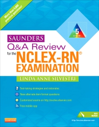 cover image - Saunders Q & A Review for the NCLEX-RN® Examination - Elsevier Digital Book,5th Edition