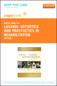 cover image - Orthotics and Prosthetics in Rehabilitation - Elsevier eBook on VitalSource (Retail Access Card),3rd Edition