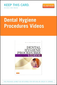 cover image - Dental Hygiene Procedures Videos - Access Code