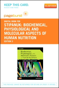 cover image - Biochemical, Physiological and Molecular Aspects of Human Nutrition - Elsevier eBook on VitalSource (Retail Access Card),3rd Edition