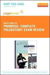 cover image - Complete Phlebotomy Exam Review - Elsevier eBook on VItalSource (Retail Access Card)