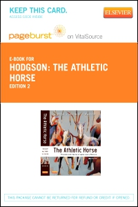 cover image - The Athletic Horse - Elsevier eBook on VitalSource (Retail Access Card),2nd Edition