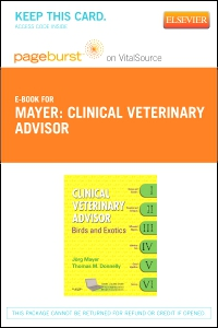 cover image - Clinical Veterinary Advisor - Elsevier eBook on VitalSource (Retail Access Card)