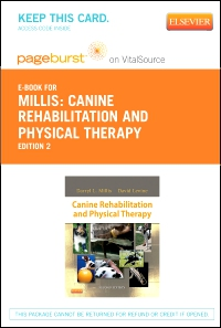 cover image - Canine Rehabilitation and Physical Therapy - Elsevier eBook on VitalSource (Retail Access Card),2nd Edition
