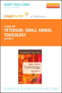 cover image - Small Animal Toxicology - Elsevier eBook on VitalSource (Retail Access Card),3rd Edition