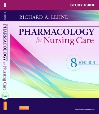 cover image - Study Guide for Pharmacology for Nursing Care - Elsevier eBook on VitalSource,8th Edition