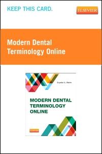 cover image - Modern Dental Terminology Online