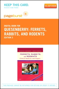 cover image - Ferrets, Rabbits, and Rodents - Elsevier eBook on VitalSource (Retail Access Card),3rd Edition