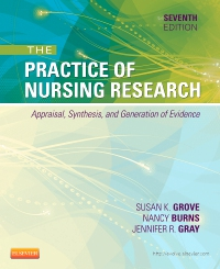 cover image - Study Guide for The Practice of Nursing Research - Elsevier eBook on VitalSource,7th Edition