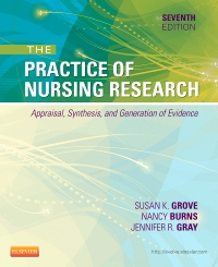 cover image - The Practice of Nursing Research - Elsevier eBook on VitalSource,7th Edition